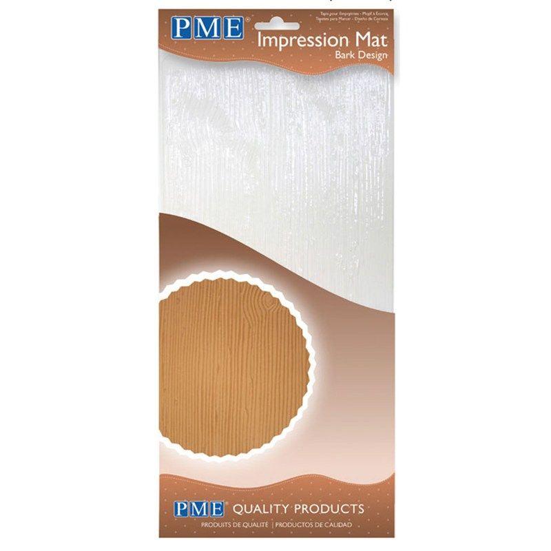 PME Large Impression Mat Bark. 800953