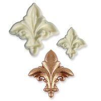 801048  PME: MOULD-JEM-POP IT-FLEUR DE LYS-2 PCE