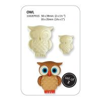 801050  PME: MOULD-JEM-POP IT-OWL-2 PCE