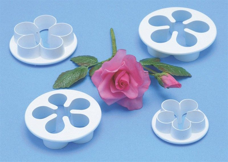 CUTTER-PME-FIVE PETAL-4SET-30-50mm