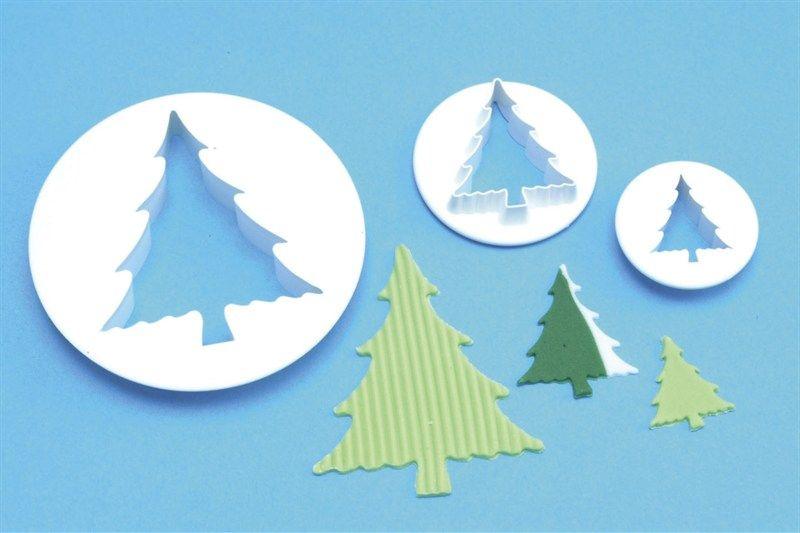 CUTTER-PME-CHRISTMAS TREE-3SET-25-65mm