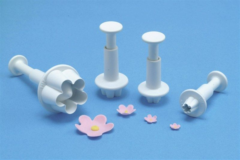 CUTTER-PME-BLOSSOM PLUNGER-4SET