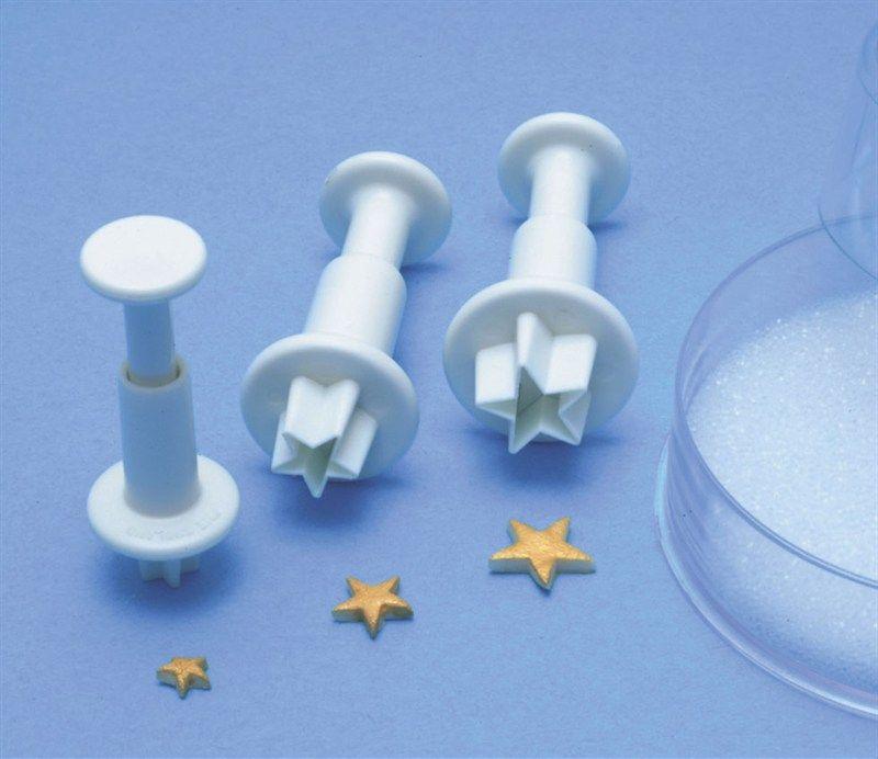 CUTTER-PME STAR PLUNGER-3SET-7,10 & 13mm
