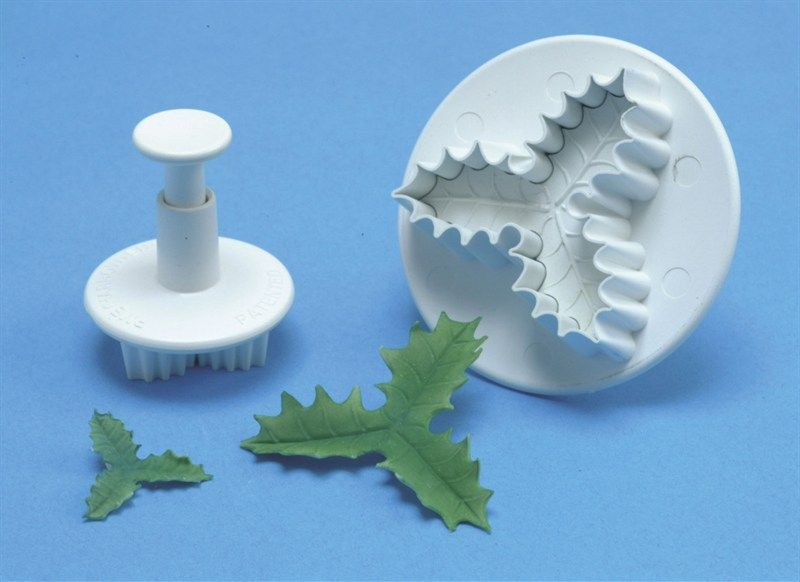 CUTTER-PME-3 LEAF HOLLY PLUNGER-MD-35mm