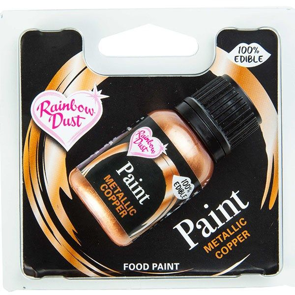 Rainbow Dust Edible Food Paint - Copper - RP
