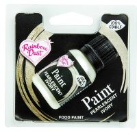 Rainbow Dust Edible Food Paint - Ivory - RP