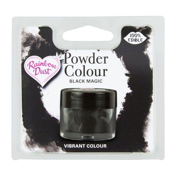 Rainbow Dust Powder Colour - Black Magic - Retail Pack. 850064