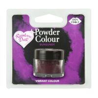 850065  Rainbow Dust Powder Colour - Burgundy - Retail Pack