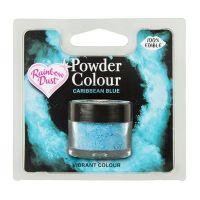 850066  Rainbow Dust Powder Colour - Caribbean Blue - Retail Pack