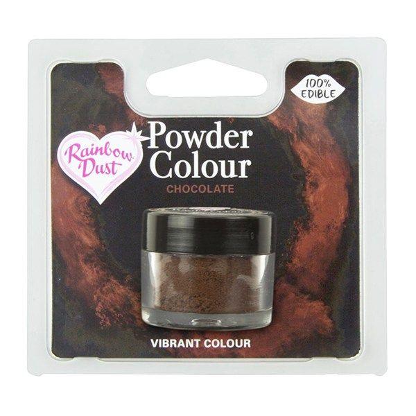Rainbow Dust Powder Colour - Chocolate - Retail Pack