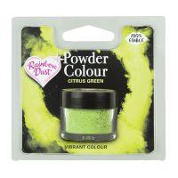 850070  Rainbow Dust Powder Colour - Citrus Green - Retail Pack