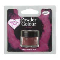 850071  Rainbow Dust Powder Colour - Claret - Retail Pack