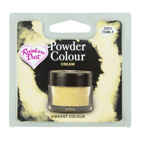 Rainbow Dust Powder Colour - Cream - Retail Pack