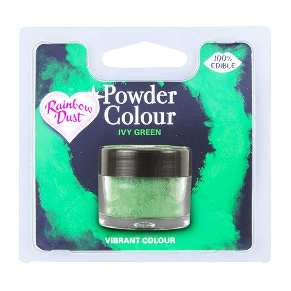 Rainbow Dust Powder Colour - Ivy Green - Retail Pack