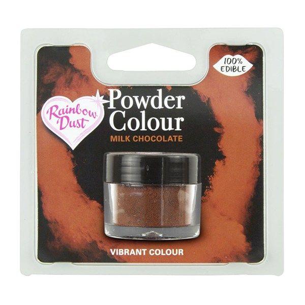 Rainbow Dust Powder Colour - Milk Chocolate - Retail Pack