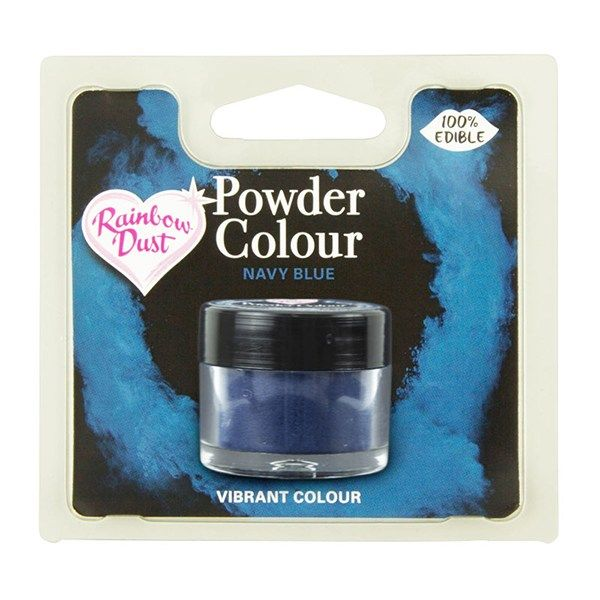 Rainbow Dust Powder Colour - Navy Blue - Retail Pack