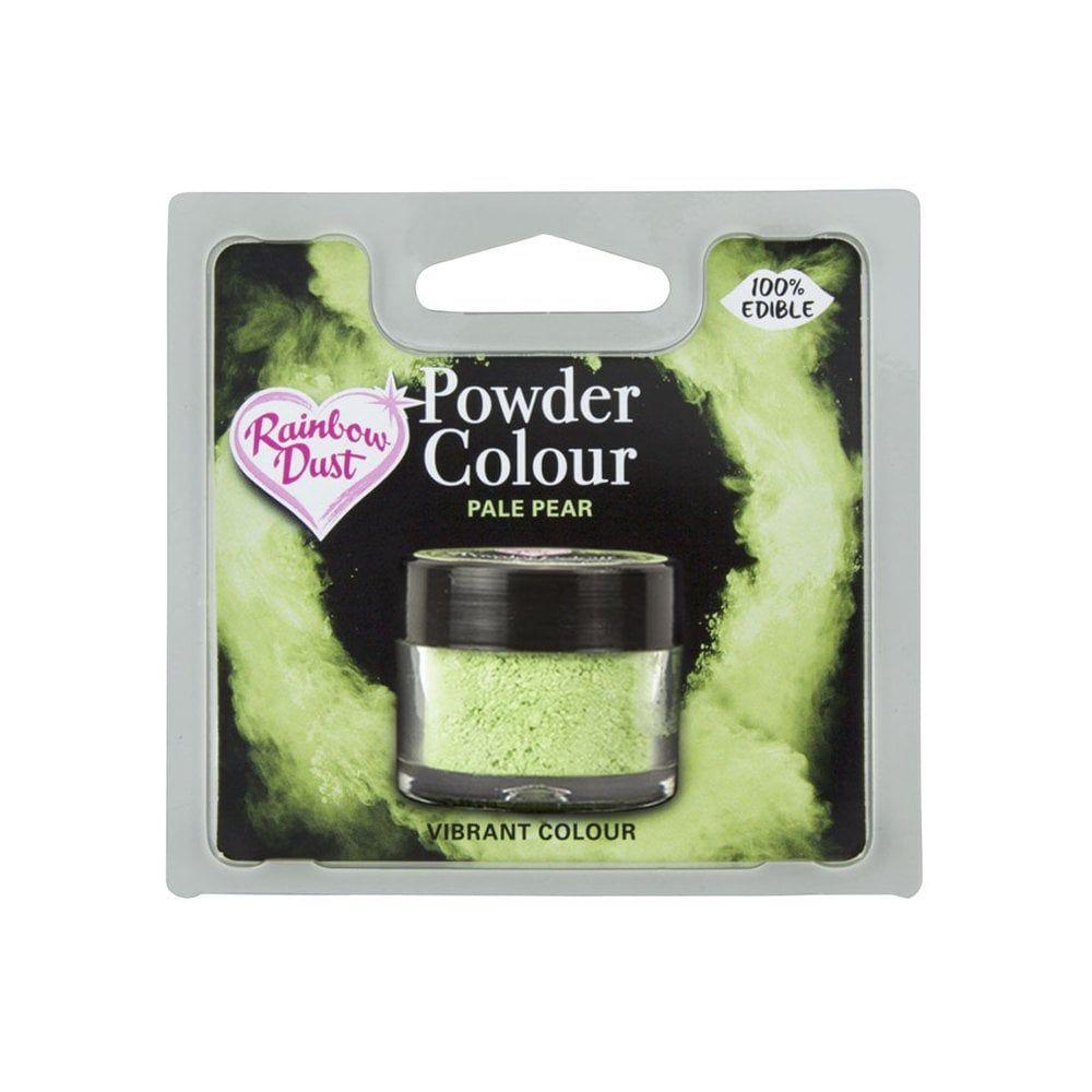Rainbow Dust Powder Colour - Pale Pear - Retail Pack