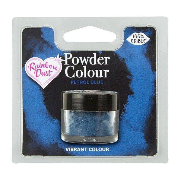 Rainbow Dust Powder Colour - Petrol Blue - Retail Pack