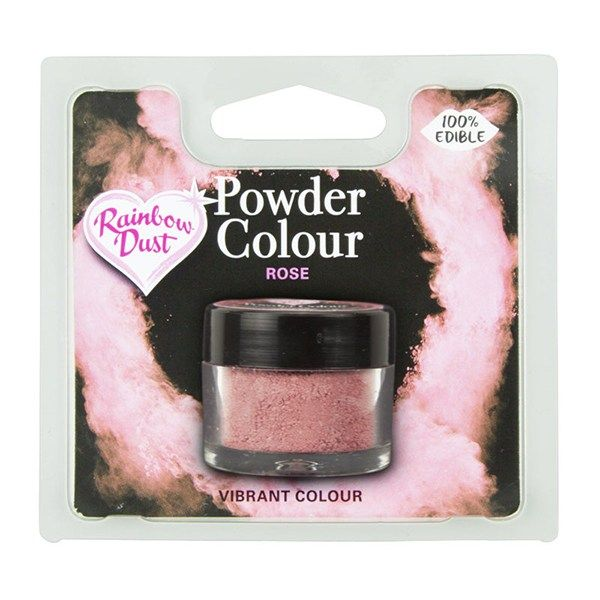 Rainbow Dust Powder Colour - Rose - Retail Pack