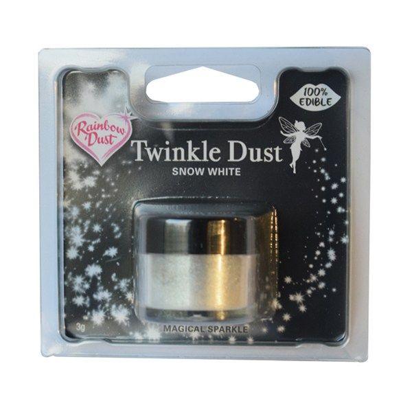 Rainbow Dust Twinkle Dust - Snow Dust - 3g - Retail Packed