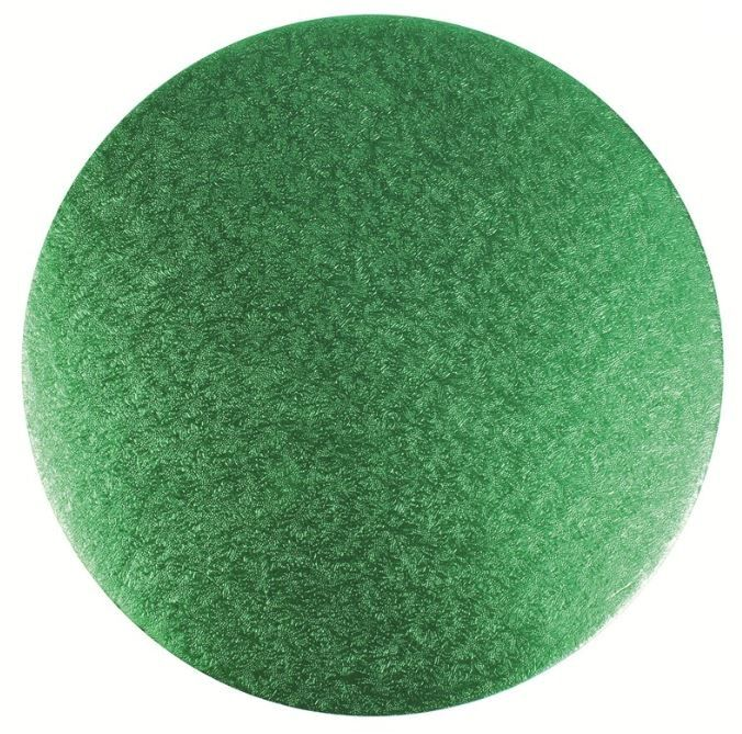 CULPITT: CARD-DBLE THICK-RD-GREEN-254mm (10