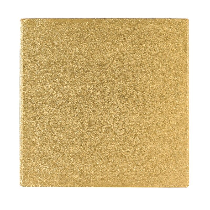 CULPITT: BOARD-SQ-GOLD-152mm (6