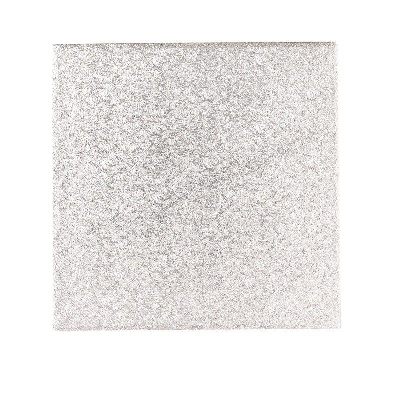 CULPITT: CARD-DBLE THK-IND S/W-SQ-SIL-254mm (10