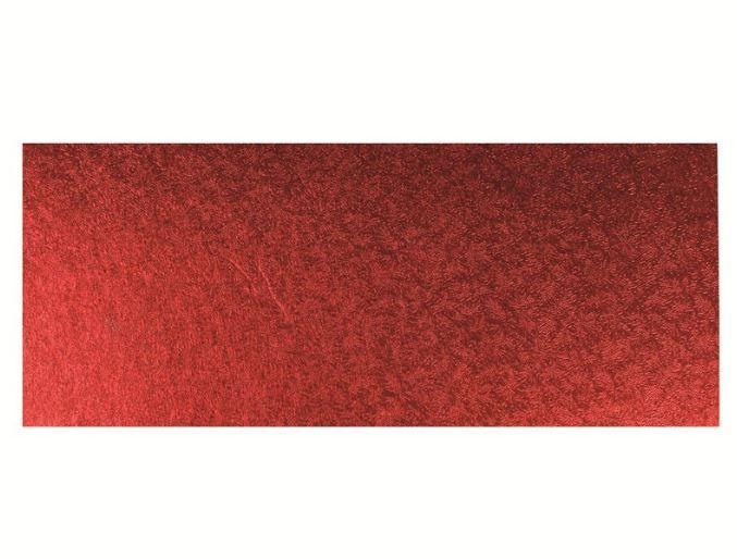 CULPITT: CARD-SGL THICK-OB-RED-304x127mm (12x5