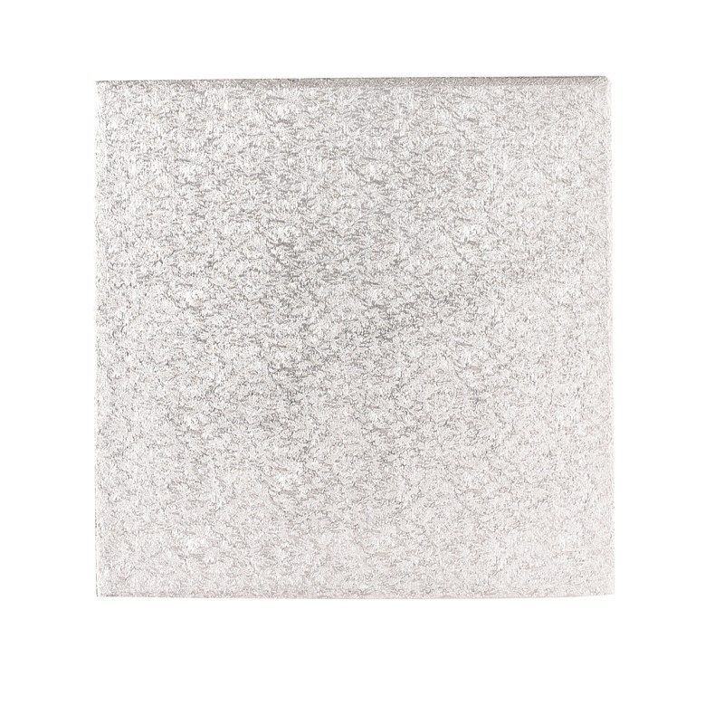 """CULPITT 10"""" (254mm) Hardboard Square Turn Edge Cards Silver Fern (3mm thick) - PACK OF 10. MHS10"""