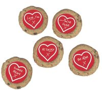 SUG721  CULPITT: SUGARDEC-VALENTINE GREETINGS-RD-NH-50mm - PACK OF 200