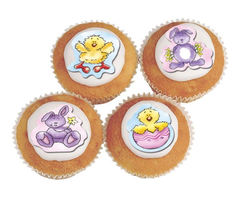 CULPITT Fluffy Bunnies and Chicks Sugarettes - 42mm - PACK OF 180. SUG724
