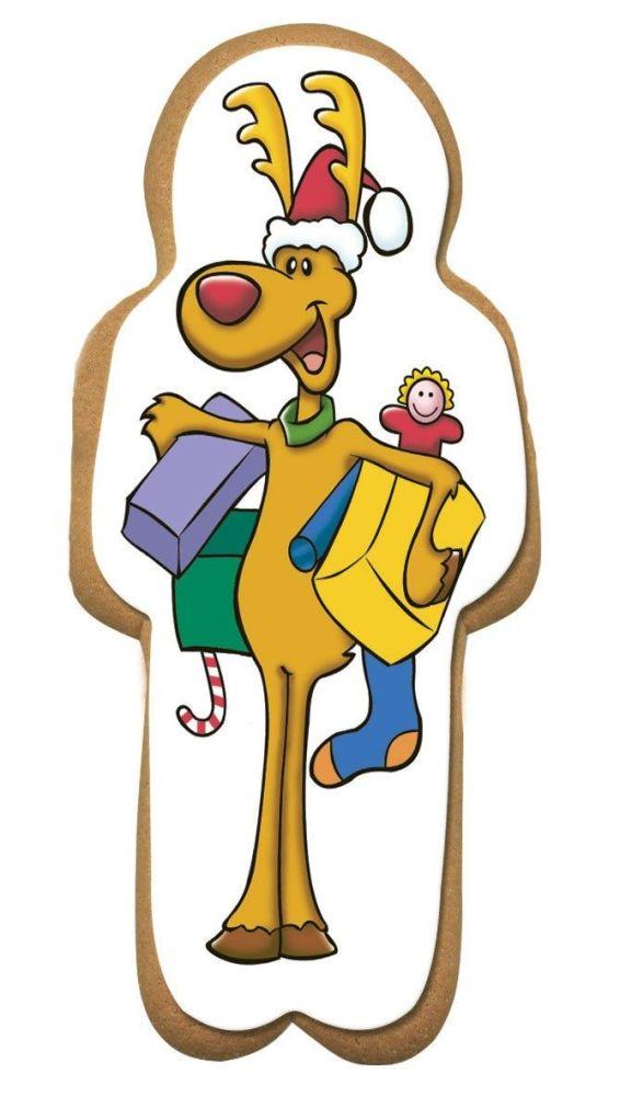 CULPITT Reindeer for Gingerbread Man -75x163mm - PACK OF 60. SUG746