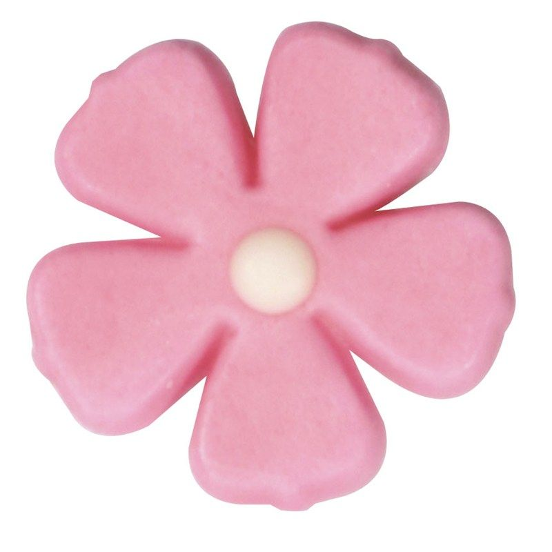 CULPITT: SUGARDEC-5 PETAL FLOWER-PINK-26mm