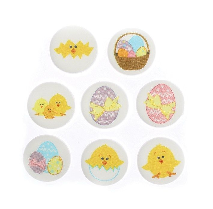 CULPITT Easter Chick Sugarettes 30mm - PACK OF 448. SUG850