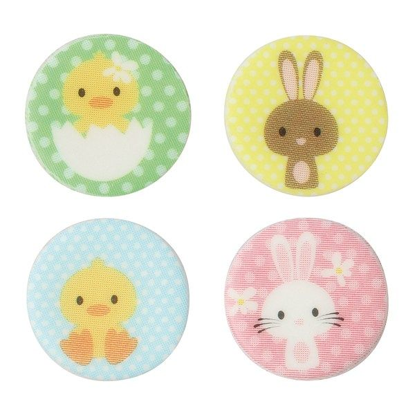 CULPITT Bunny & Chick Sugarettes 25mm - PACK OF 405. SUG876