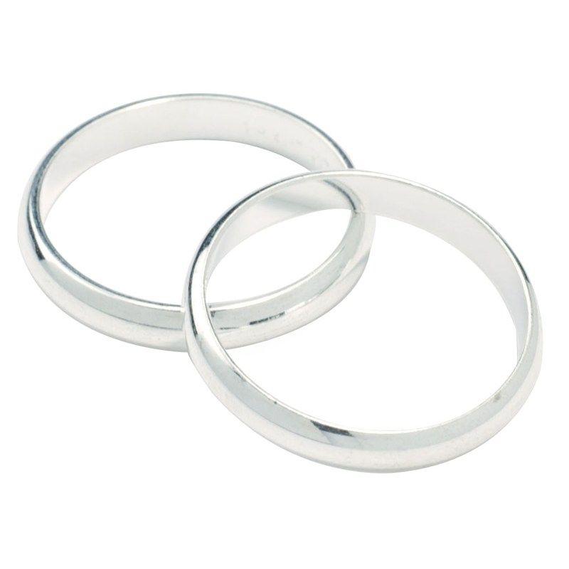 CULPITT: DECS-WEDDING RING-SILVER-17mm
