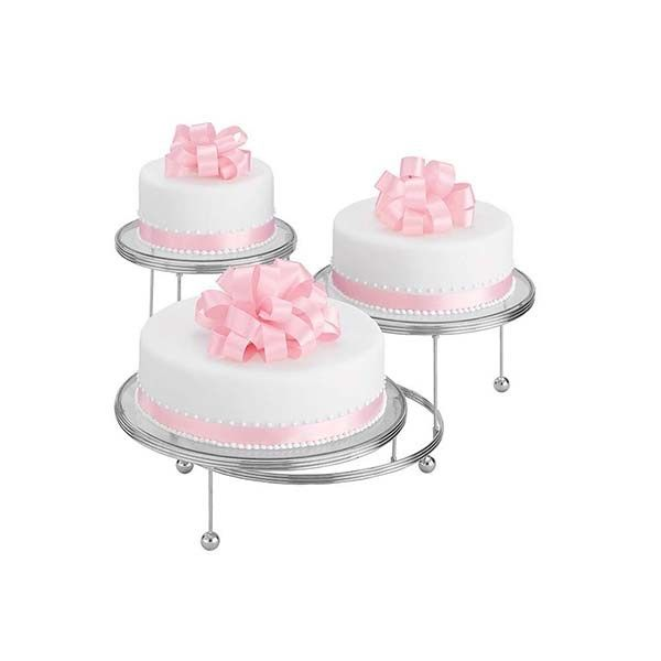 CULPITT: CAKE STAND-WILTON-3 TIER-CAKES N MORE