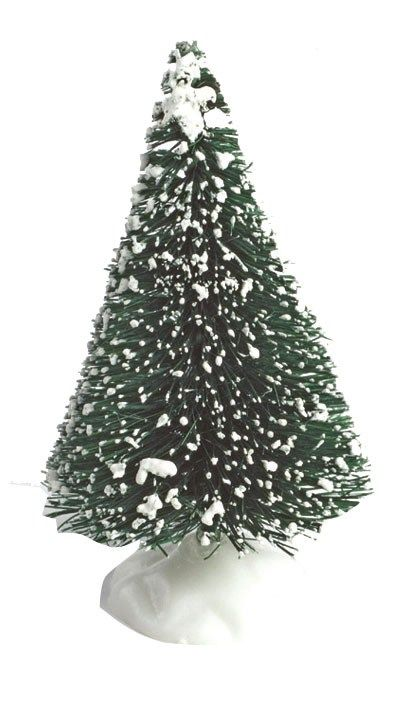 CULPITT: DECS-BRISTLE CHRISTMAS TREE-62mm