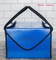"""Chibu classic OLUCHI professional blue cake carrier - 13"""" x 13"""" x 10"""""""