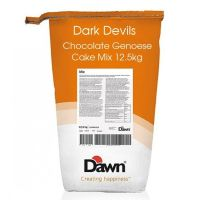 Dawn Dark Devils Genoese Chocolate cake & cupcake mix 12.5kg