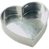 "Invicta 7"" / 179mm heart professional cake tin"