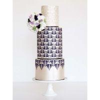 Silvia Favero ALSACIA extra large double barrel cake icing stencil