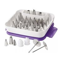 Wilton *LATEST VERSION* 55 piece Master Tip Set icing nozzle piping tube box