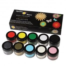 Sugarflair Blossom Tint & Lustre Collection (10 x 2g) : RRP £20. CB Club Pr