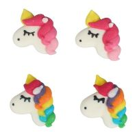 Culpitt. Bulk Pack of Unicorn Sugar Pipings - Box of 200: RRP: £23 . CB Club Price: £16. Save £7!