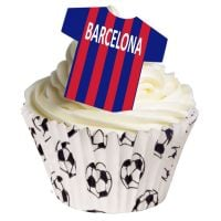 Barcelona Edible T-Shirt Decorations