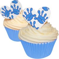 Baby Shower - Baby Hands Boy - Heart Toppers
