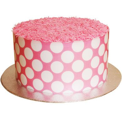 CDA Edible Wafer Pink Sugar Free Sprinkles 22g