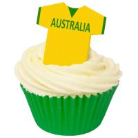 CDA Wafer Paper Pack of 12 Australia Football Shirts