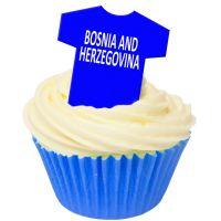 CDA Wafer Paper Pack of 12 Bosnia & Herzegovina Football Shirts